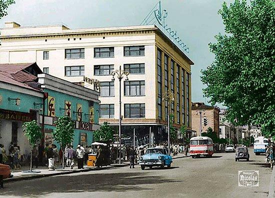 кинотеатр Сивашец 1960